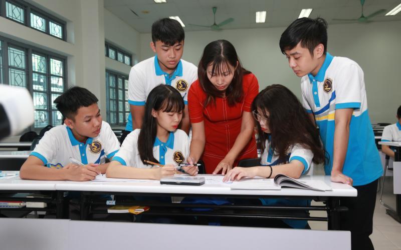 Phòng học thông minh nhà A5